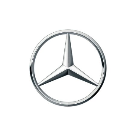 Estrela Cromada Grade para Mercedes Benz 1938 LS | 1620