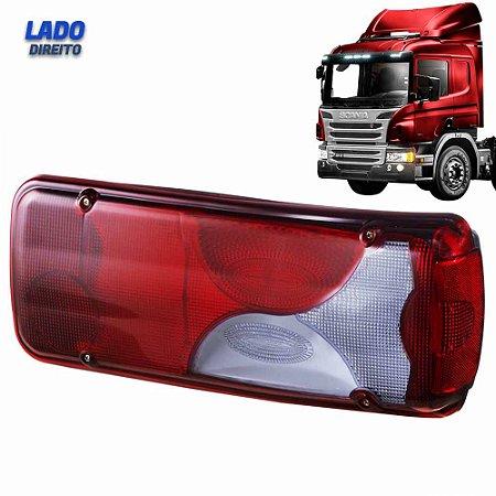 Lanterna Traseira Caminhão Scania S4 S5 LD Botinha