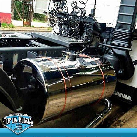 Tanque de Combustível de inox Caminhão 400 Litros Bocal Especial
