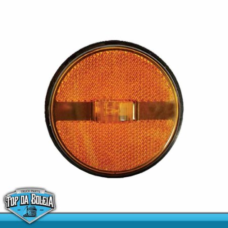 Lanterna LED Posição Retrorrefletor (1270/4) Acrílico Ambar / Rubi / Cristal / Verde Bivolt