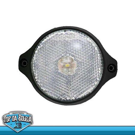 Lanterna LED Posição Retrorrefletor (2017/sc) Acrílico AMBAR / Cristal / Rubi Bivolt