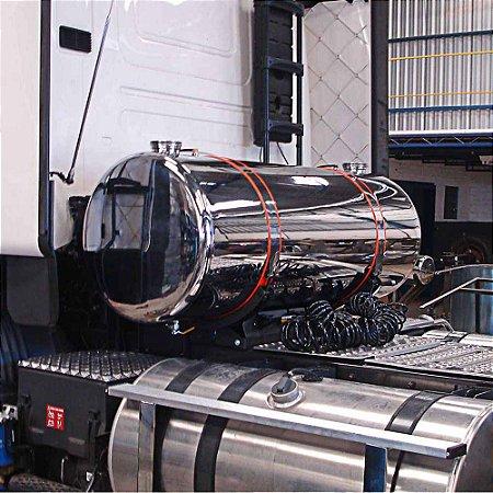 Kit Tanque Adicional para Arla em Aço Inox 235 Litros Plataforma