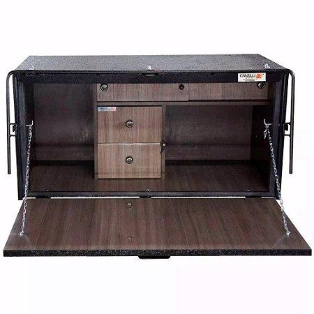 Caixa De Cozinha para Caminhão Cavalli Master Luxo 500 x 1000 x 500