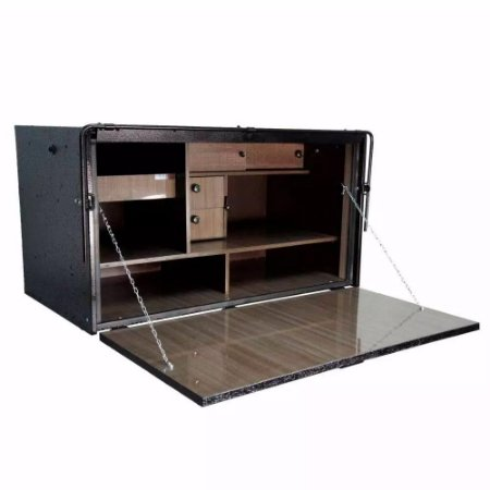 Caixa De Cozinha para Caminhão Cavalli Master 2 Andares 600 X 1100 X 600