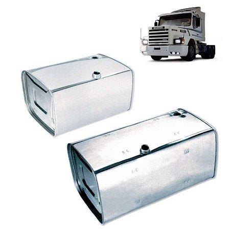 Par Tanques de Inox Scania 112 113 143 300 400 Litros