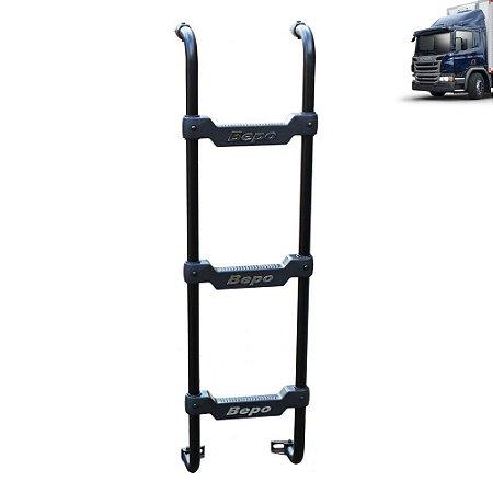 Escada Traseira para caminhão Scania Cabine P