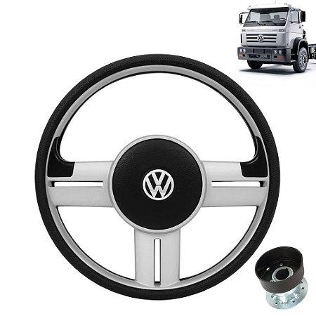 Volante esportivo para caminhão VW Worker c/cubo mod Gol Rallye
