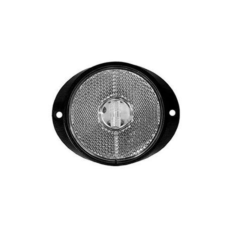 Lanterna peito carreta de led branca 12V 24V com fio