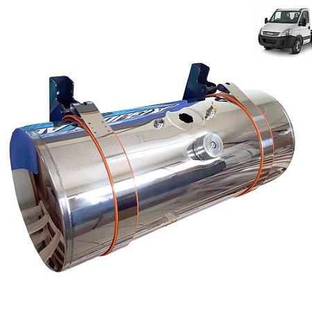 Kit Tanque de inox 155 litros completo para Caminhão Iveco Daily