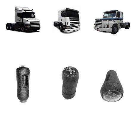 Manopla Câmbio Scania 113 / S4 8 Marchas Simples 1482997