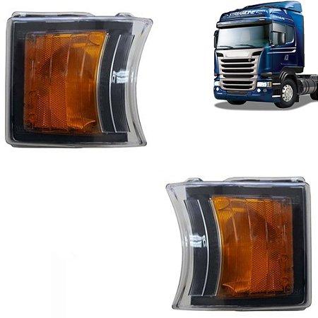 Par Lanterna Dianteira Pisca Led Scania S5 Edition 2241544 1747981