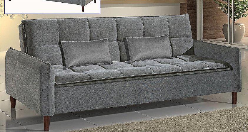 Sofá cama casal Los Angeles - Tecido camurça aracruz