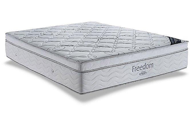 Colchão Ortobom Pocket Freedom Casal Queen - 1,58x1,98x0,32