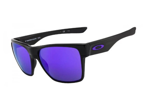OAKLEY TwoFace XL OO9350 Cor Preto lente Violeta iridium espelhada