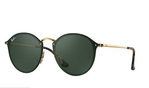 RAY BAN ROUND BLAZE RB3574N 001/71 59-14