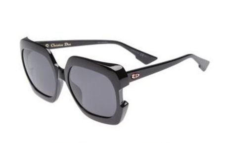 "DIOR ""DIORGAIA "" SUNGLASEES 58MM - BLACK"