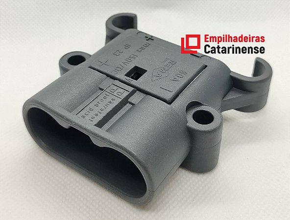 Conector Rema DIN – 80Ah macho (25mm²)