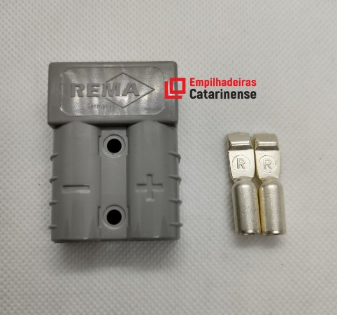 Conector Rema BIPOLAR – 50Ah (13,3mm²)
