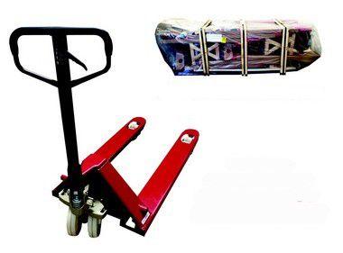 Paleteira Manual Hidráulica 2.5T - Rodado Duplo - NY - Somente Fardo Fechado c/ 06 unidades  | Empilhadeiras Catarinense
