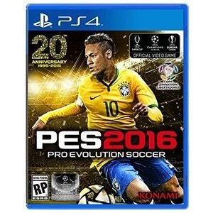 Pro Evolution Soccer 2016 Playstation 4 Blu-Ray