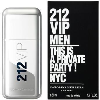 Perfume 212 VIP Men Carolina Herrera Eau de Toilette Masculino 50 ml