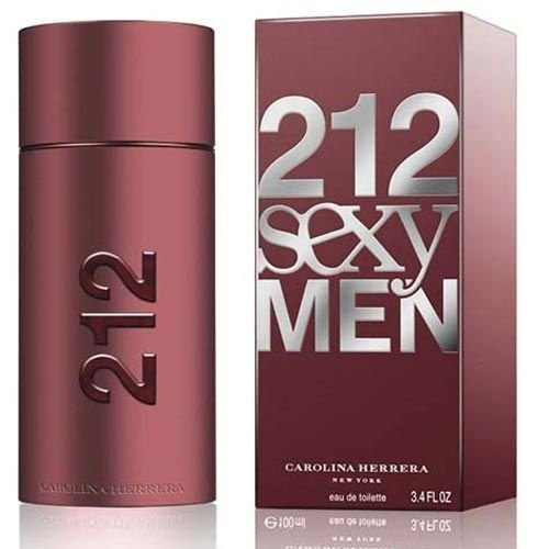 Perfume 212 Sexy Men Carolina Herrera Eau de Toilette Masculino 50 ml