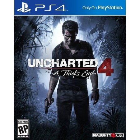 Uncharted 4 A Thief's End Playstation 4 Blu-Ray+