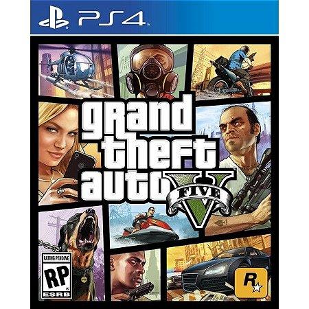 Grand Theft Auto V Playstation 4 Blu-Ray+