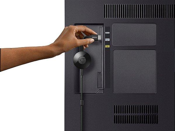 Novo Google Chromecast 2 Hdmi Full HD Wireless | Para Android, PC, MAC e IOS