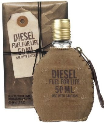 Perfume Fuel For Life Diesel Eau de Toilette Masculino 50ml