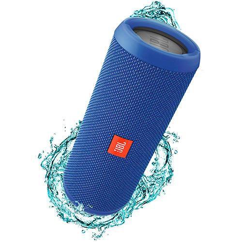 Caixa de Som Bluetooth JBL FLIP3 Azul 16W RMS Bluetooth/Entrada P2 Amplificada 2X8W
