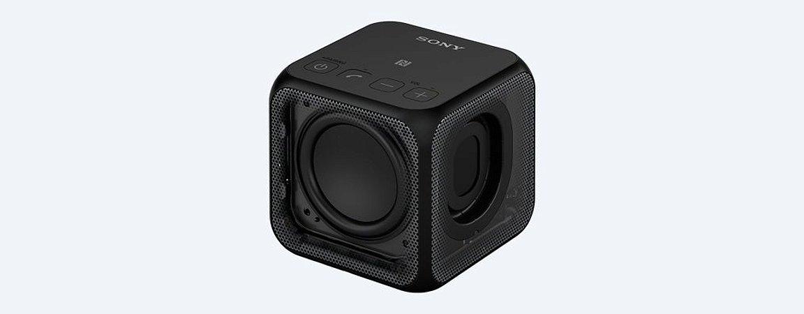 SPEAKER PORTÁTIL SONY SRS-X11 BLUETOOTH NFC PRETO
