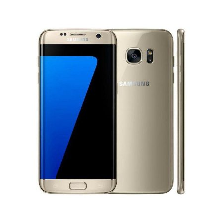 "Smartphone Samsung Galaxy S7 Edge 32GB LTE 1Sim Tela 5.5"" QHD Câm.12MP+5MP-DOURADO"