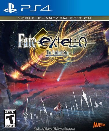 JOGO FATE EXTELLA NOBLE PHANTASM EDITION PS4