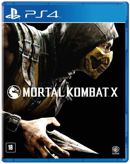 JOGO MORTAL KOMBAT X PS4