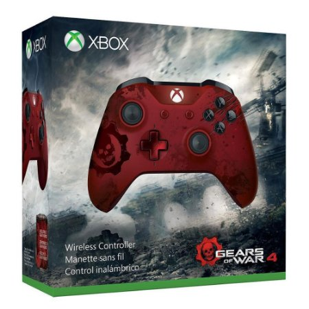 CONTROLE XBOX ONE S MODELO GEAR OF WARS 4