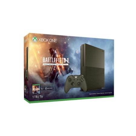 CONSOLE XBOX ONE S 1TB BATTLEFIELD 1 EDITION