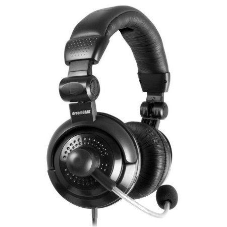 Fone DreamGear Elite Gaming Heads Para PS3/PS4