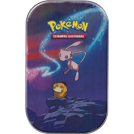 Cards Pokémon - Deck Lata - Poder De Kanto - Mew e Psyduck - Copag