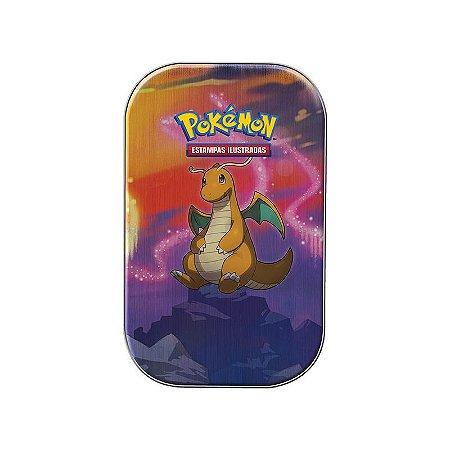 Jogo de Cartas Pokémon - Deck Lata - Poder de Kanto - Dragonite - Copag