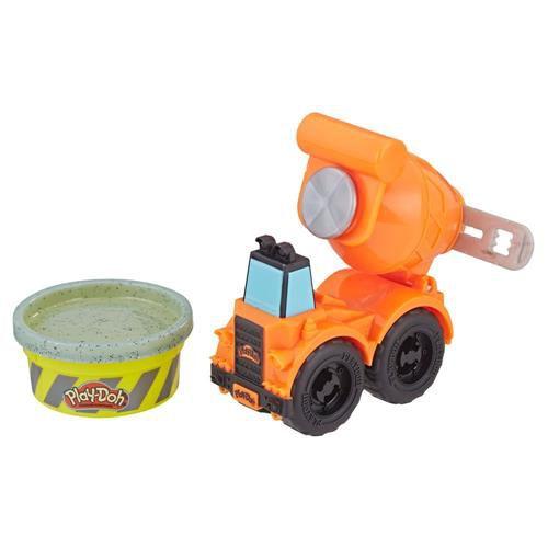 Massinha de Modelar Play-Doh Betoneira 1 Pote Cor Cimento Hasbro