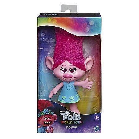 Figura Básica - 20 Cm - Trolls - World Tour - Poppy - Hasbro