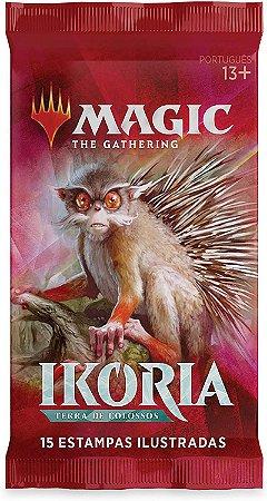 Magic The Gathering Ikoria Terra de Colossos, Draft Booster, Português