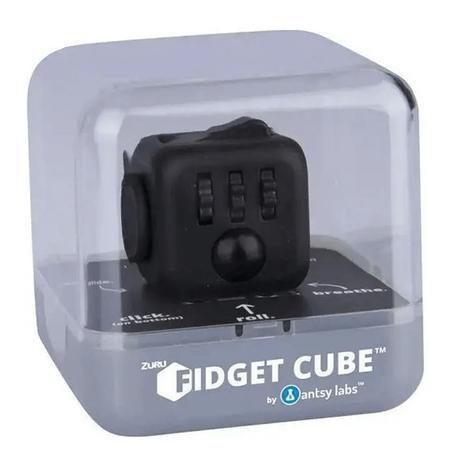 Fidget Cube Cubo Anti Stress Preto - Candide