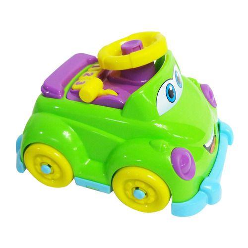 Carrinho Baby Driver 218 Jp Brink Brinquedo Verde