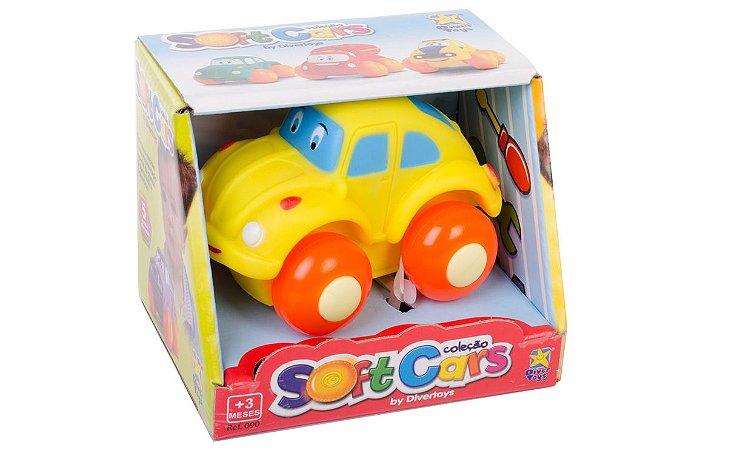 Carrinho Sof Cars Divertoys 90