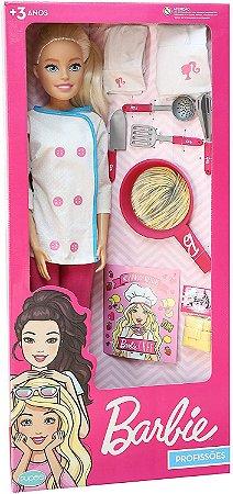 Boneca Barbie Profissões Chef 65cm Pupee