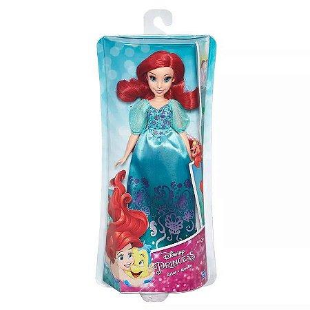 Boneca Clássica - Princesas Disney - Ariel Vestido Brilhante - Hasbro - B5285
