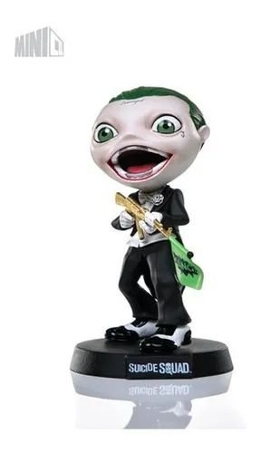 Estátua Tho Joker - Suicide Squad - MiniCo - Iron Studios