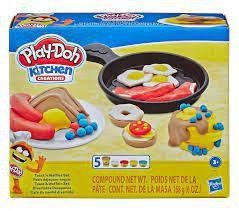 Massinha Play Doh Kitchen Café Da Manhã Divertido Hasbro